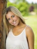 Sorriso novo e saudável Imagens de Stock