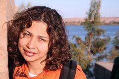 Sorriso pelo Nile fotos de stock