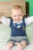 Sorriso pequeno da criança Foto de Stock Royalty Free