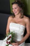 Sorriso radiante fotografia stock