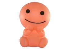 Sorriso rosa rotondo Fotografia Stock Libera da Diritti