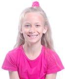 Sorriso sano del bambino dei denti Fotografia Stock