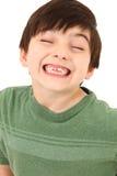Sorriso sciocco fotografia stock
