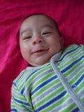 Sorriso senza denti Immagini Stock Libere da Diritti