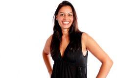 Sorriso 'sexy' da mulher fotografia de stock
