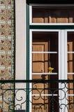 Sorriso sulla finestra Immagini Stock