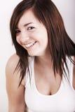 Sorriso sveglio Fotografia Stock