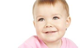 Sorriso sveglio del bambino fotografie stock libere da diritti