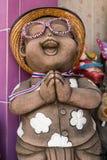 Sorriso tailandês Clay Dolls Fotos de Stock Royalty Free