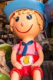 Sorriso tailandês Clay Dolls Fotos de Stock