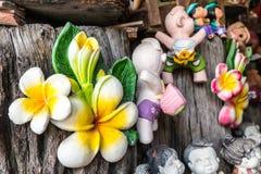 Sorriso tailandês Clay Dolls Imagem de Stock