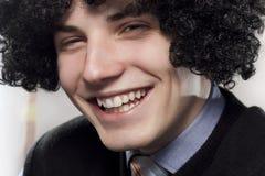 Sorriso Toothy Fotos de Stock Royalty Free
