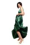 Sorriso verde Imagem de Stock Royalty Free