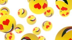sorrisos ilustração stock