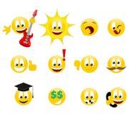 Sorrisos Fotografia de Stock