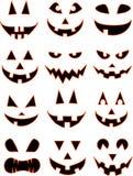 Sorrisos de Halloween Imagens de Stock Royalty Free