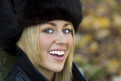 Sorrisos do outono Imagens de Stock