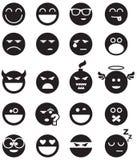 Sorrisos do preto Imagens de Stock