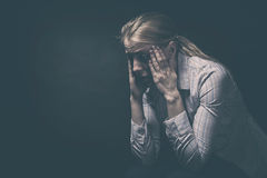 Sorrow Royalty Free Stock Images
