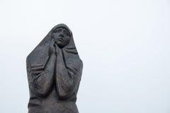 Sorrowful mother memorial. In Ufa, Russia Stock Photo
