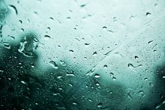 Sorrowful rain Stock Photos