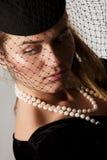 Sorrowful widow Royalty Free Stock Image