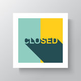Sorry  We Are Closed Sign Royalty Free Stock Image