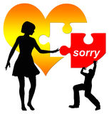 Sorry Concept Stock Photography