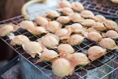 Sort av thai sweetmeat- eller kanomkrok Royaltyfri Foto