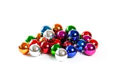 Sort d'arbre de Noël des boules de Noël Sort de décor de Noël Image stock