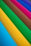 Sort de papier de couleur pour l'idée de métiers Images libres de droits