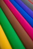 Sort de papier de couleur pour l'idée de métiers Images stock