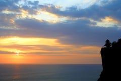 Sort de Tanah, Bali Indonésie Photographie stock libre de droits
