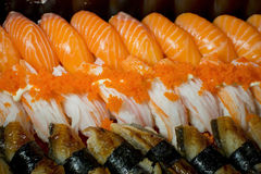 Sort of sushi Royalty Free Stock Images