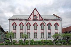 Sortavala大厦和建筑学 免版税库存照片