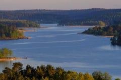 Sortavala, άποψη της Ρωσίας Ladoga skerries Στοκ φωτογραφίες με δικαίωμα ελεύθερης χρήσης