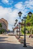 Sortavala. Square of the city. Republic of Karelia. Sortavala. Square of the city Royalty Free Stock Photo