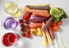 Sorte de légumes Image stock