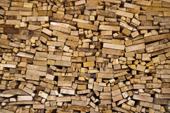 Sorted firewood. Ready to burn in the fireplace Stock Images