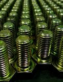 Group of screws Royalty Free Stock Photography
