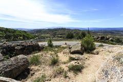 Sortelha – Belvedere Panoramic View Stock Photography