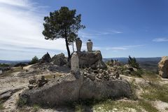 Sortelha – Belvedere on the Road Royalty Free Stock Images