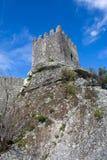 Sortelha Castle. Historic village near Covilha, Portugal Royalty Free Stock Photo