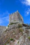 Sortelha Castle. Historic village near Covilha, Portugal Stock Photo