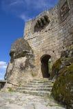 Sortelha Castle. Historic village near Covilha, Portugal Stock Images
