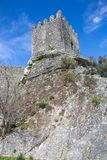Sortelha Castle. Historic village near Covilha, Portugal stock images