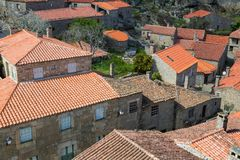 Sortelha. Historical village of Sortelha, Portugal stock photography