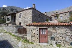 Sortelha. Historical village of Sortelha, Portugal Stock Photo