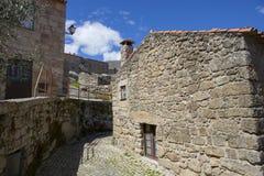 Sortelha. Historical village of Sortelha, Portugal Stock Photos