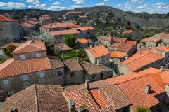 Sortelha. Historical village of Sortelha, Portugal royalty free stock photography